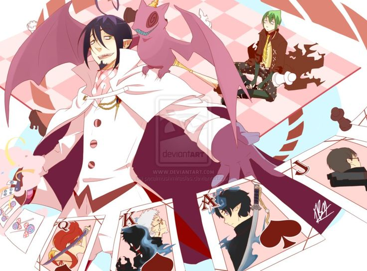 The Magnificent Mephisto Pheles By Petalmushmiracles Blue Exorcist