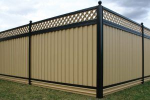 Metal Privacy Fence And Steel Fencing Supplies Australia Wide   Outdoor Privacy Screens  Metal