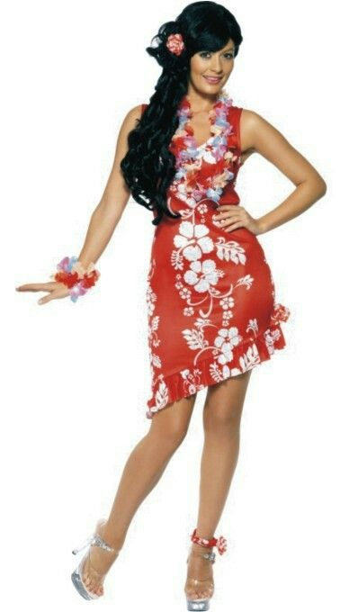 Attract Attention At The Hawaiian Party With Beauty Costume This Fun And Flirtatious Fancy Dress Includes A Hairpiece