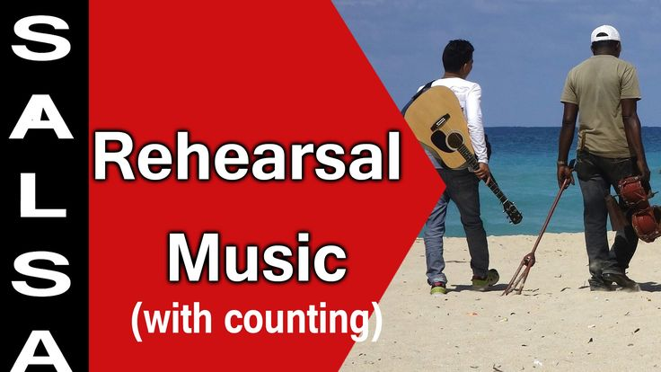 Salsa Rehearsal Music [with counting]