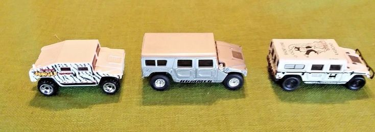 Hot Wheels Johnny Lighting Hummer lot 3 die cast SUV trucks  #HotWheels #Hummer