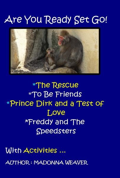 The Rescue - Sandy tells you about his camping adventure and how he got lost in the bush with his pet dog Tuppence and monkey Choo Choo when he was a boy.  Staying on track is important.                      To Be Friends - A rich and less wealthy family are neighbours and through change learn to build a lasting friendship.                               Prince Dirk and A Test of Love - Prince Dirk has to complete three tasks to win back his beloved Delronia from the nasty King Seron.  True…