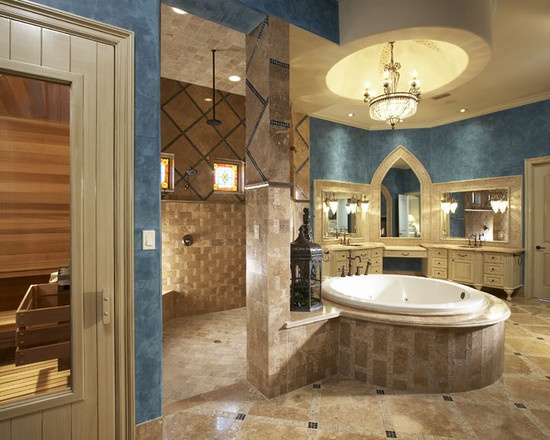 Mediterranean Style Luxury Bathrooms: 1000+ Images About Bathrooms And Powder Rooms On Pinterest