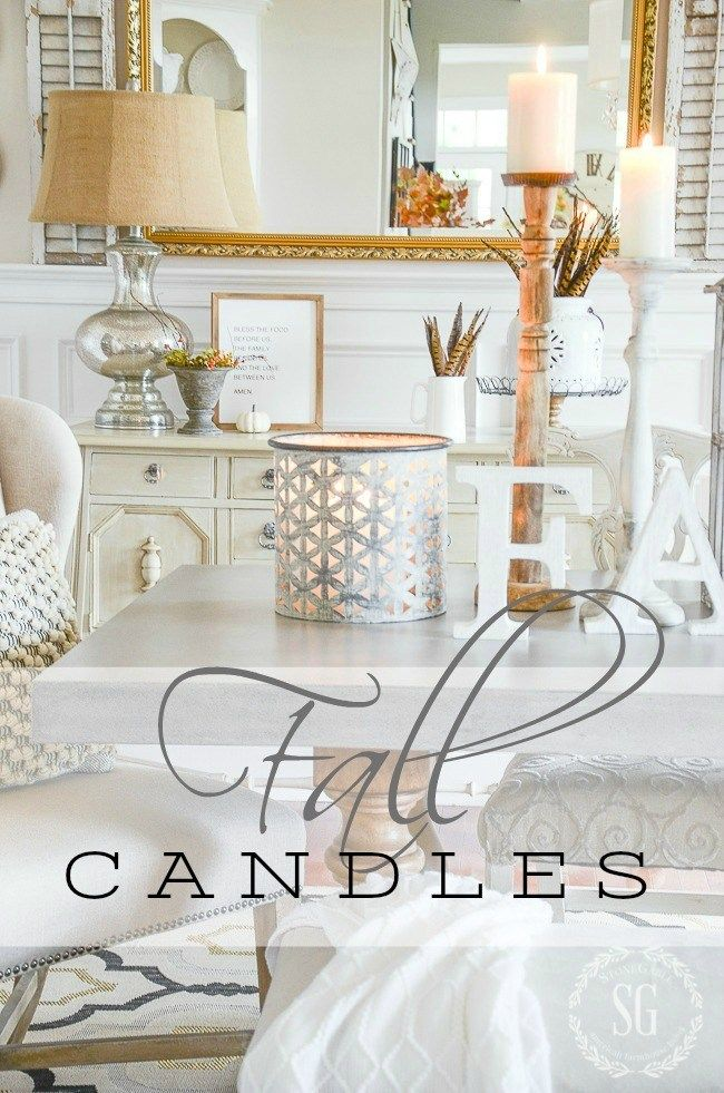 FALL CANDLES Stone Gable Pinterest Fall candles, Candles and Fall