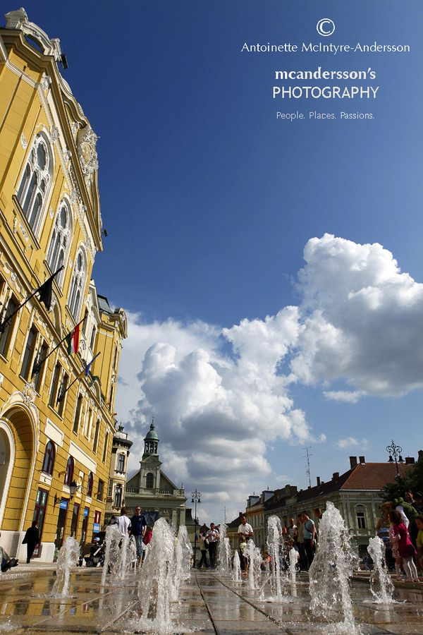 Pécs in May.