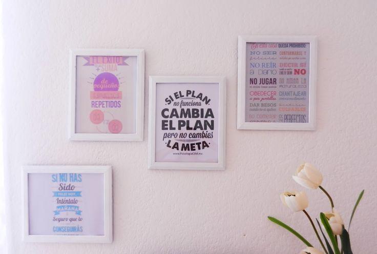 ideas para decorar tu cuarto con cuadros - Buscar con Google
