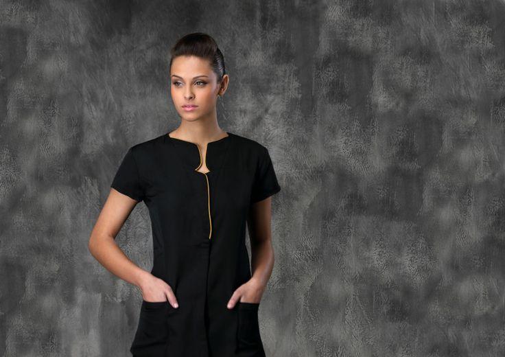 Cabiola blouse m dicale blouse spa blouse esth ticienne for Spa nagoya uniform