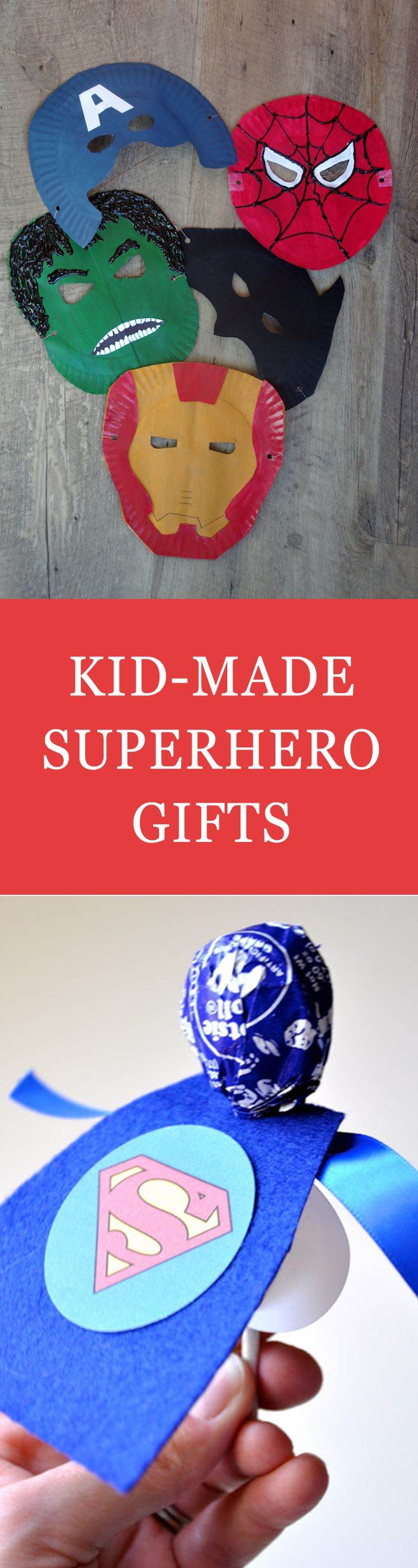 For Father's Day this year, help your little ones make their dad feel like the superhero he is. You can't go wrong with these easy and fun DIY gifts for dad. It's the perfect excuse to make him feel special. Click for a list of superhero kid-made Father's Day gifts.
