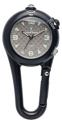 Smith & Wesson Carabiner Watch - Black