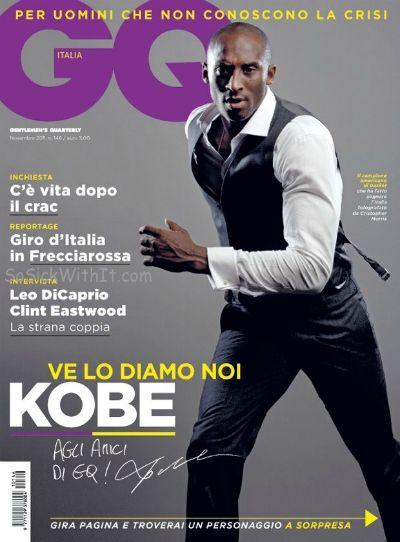 Kobe Bryant Does GQ Italia