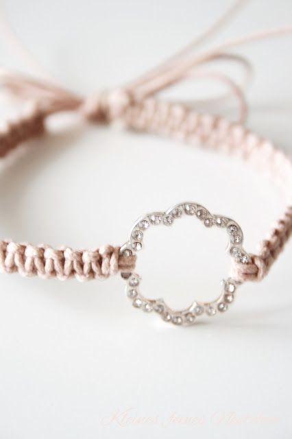 Kleines, feines Nestchen: DIY Makramee-Bracelet