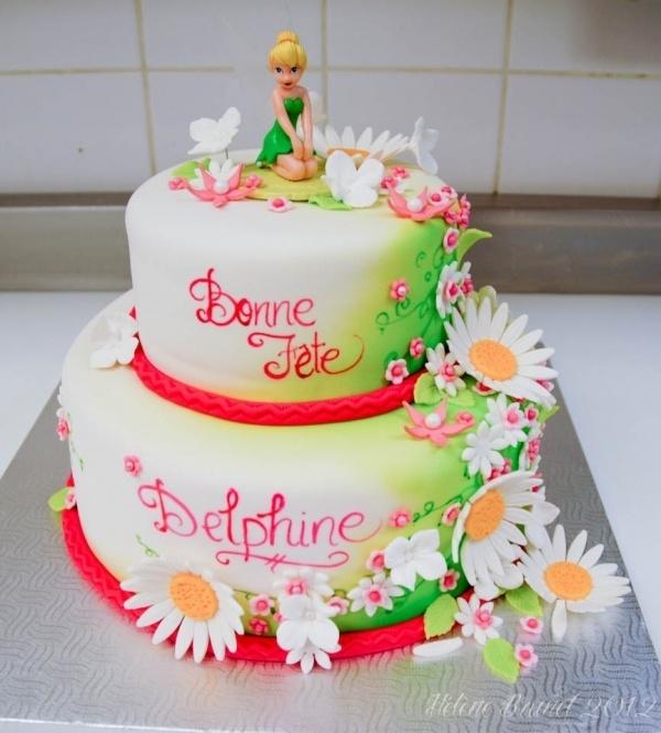 Tinkerbell Birthday Cakes Pinterest