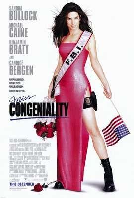 Miss Congeniality Movie Poster (2000)