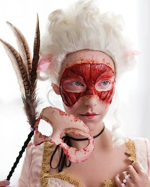 Anatomy FX: Special Makeup Effects  I just love the way this looks!!