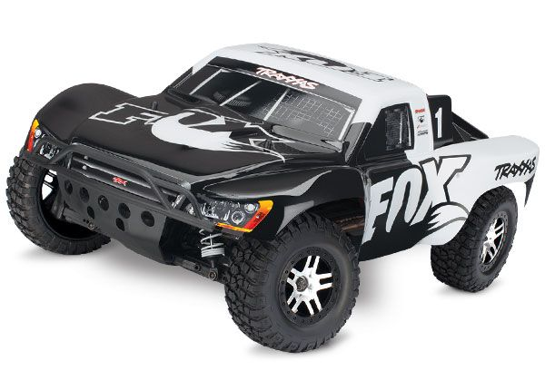 Slash 4X4: 1/10 Scale 4WD Electric Short Course Truck with TQi Traxxas Link Enabled 2.4GHz Radio System & Traxxas Stability Management (TSM) | Traxxas