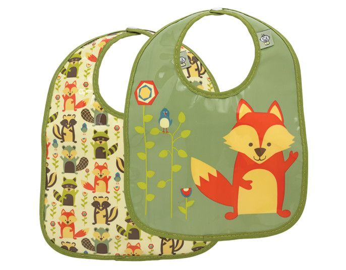 What Did the Fox Eat?® Mini Bib Gift Set-of-Two