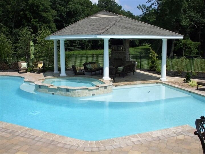 Beautiful Gazebo Designs For Your Swimming Pool