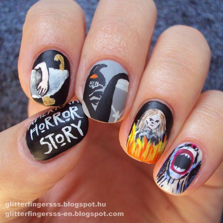 4 недели Хэллоуина   американская История ужасов ~ Glitterfingersss на английском языке