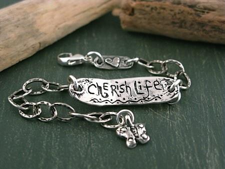 Cherish Life bracelet.  #jewelry #bracelets #inspirationaljewelry #cowgirljewelry  www.islandcowgirl.com  Check us out on Facebook...New Fall line coming out soon!Cherishlife Braceback Jpg, Bracelets Silverbracelet, Cowgirls Jewelry, Cowgirljewelri Handmadejewelry, Islandcowgirl Com Bracelets, Islands Cowgirls, Silverbracelet Cowgirljewelri, Cherish Life, Pound
