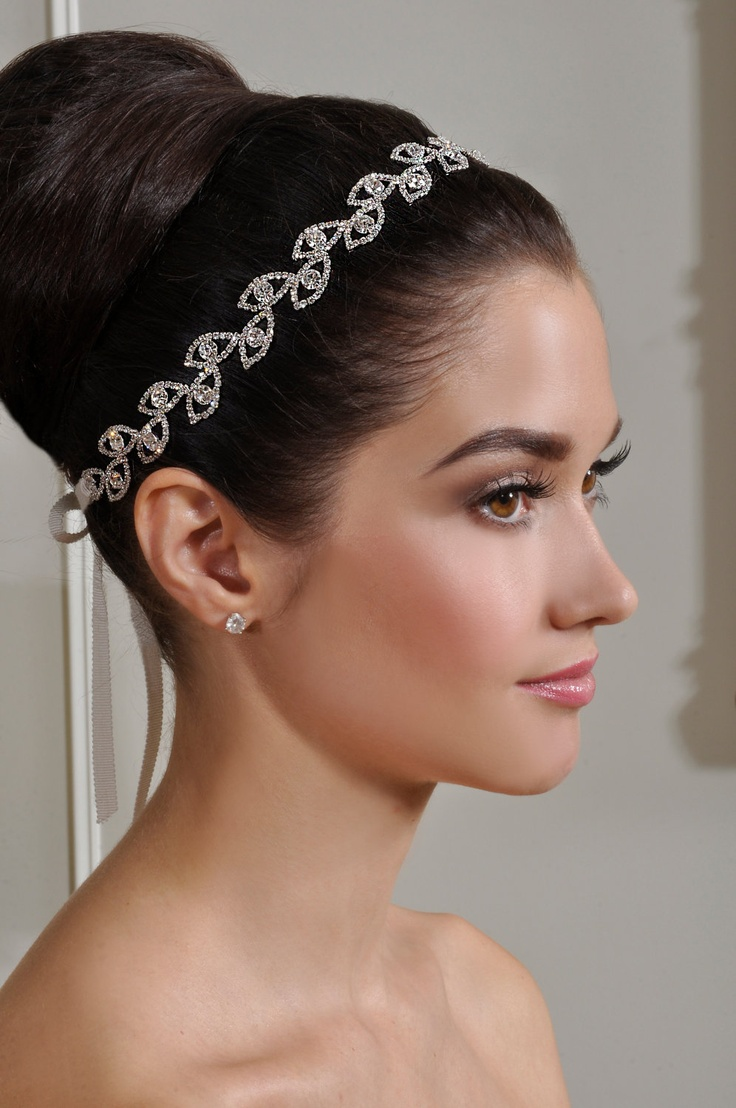 Bridal tiaras and veils - New Beautiful Bridal Headband Wedding Tiara By Alisabrides