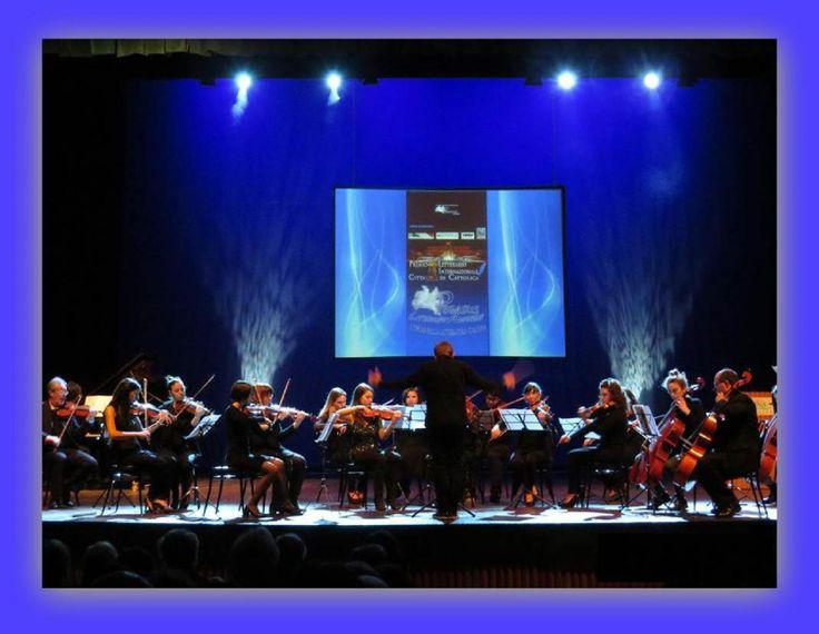 Ouverture con la grande orchestra d'archi G. Lettimi di Rimini al Premio Citta' di Cattolica - Pegasus Literary Awards 2014