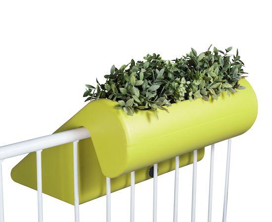 rephorm: Conception pour le balcon / Design pour le balcon: balKonzept: nouvelle couleur lime
