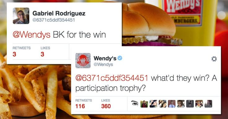 Wendy's Twitter Replies Are Becoming the Best Part of Twitter