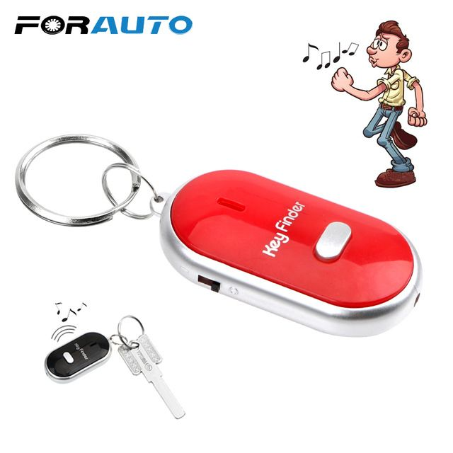 Car Keyring Key Locator Led Whistle Key Finder Key Rings Keychain