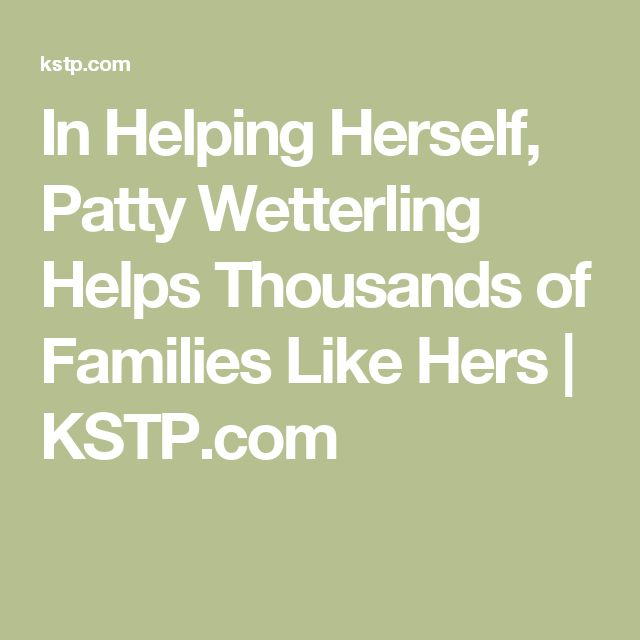 In Helping Herself, Patty Wetterling Helps Thousands of Families Like Hers | KSTP.com