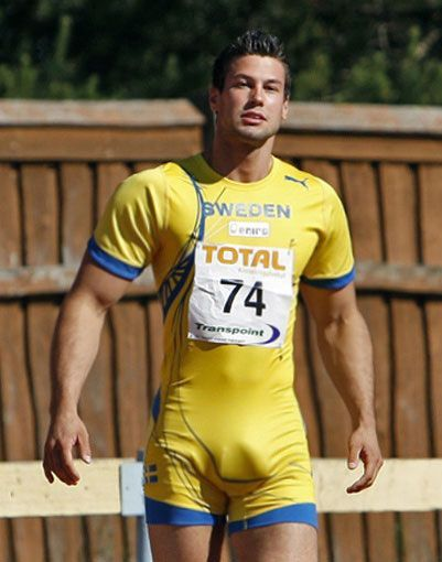 Oh my... 18 Olympic Athletes Compete In The Battle Of The Bulge.   Bjorn Barrefors – The Frisky
