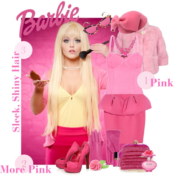 9 best lillys barbie party images on pinterest barbie party diy halloween costume barbie livi bussert solutioingenieria Image collections