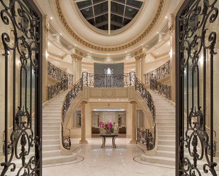 901 alpine drive beverly hills ca 90210 beverly hills luxury homes lobby interior. Black Bedroom Furniture Sets. Home Design Ideas