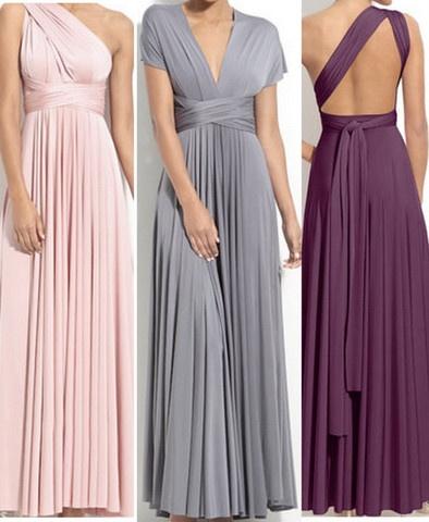 Convertible dress >> Wonderful for bridesmaids!