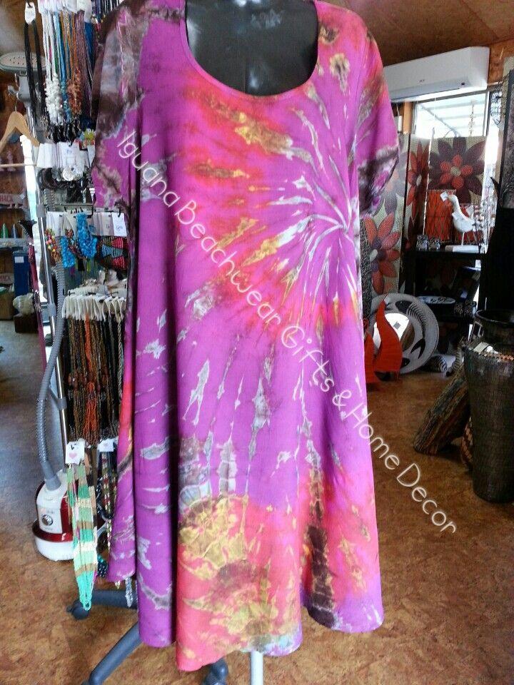 Tie-dye dress free size 18-20