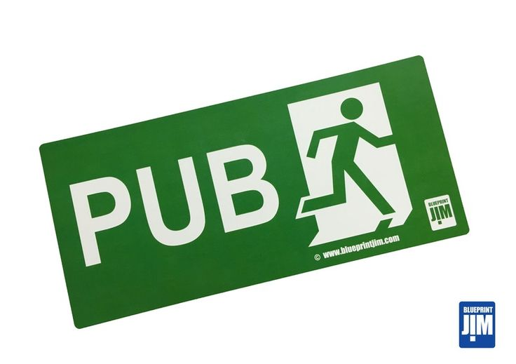 Pub+Exit+sign+using+the+Fire+Exit+style.
