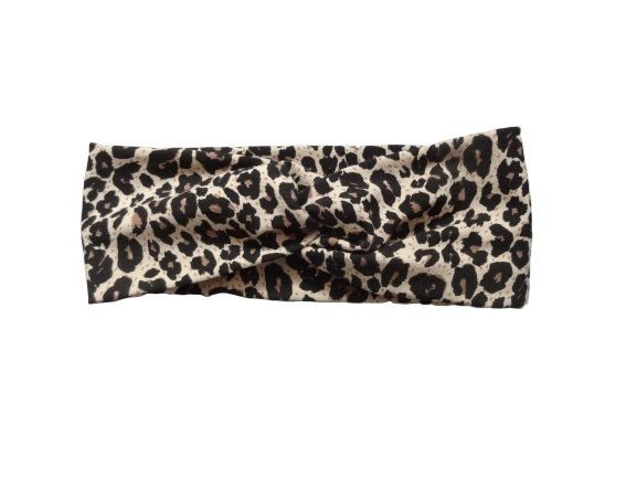 stretchy headband turban twist headband fashion turban shower gift Head Wraps Leopard twist turban headband toddler turban headbands