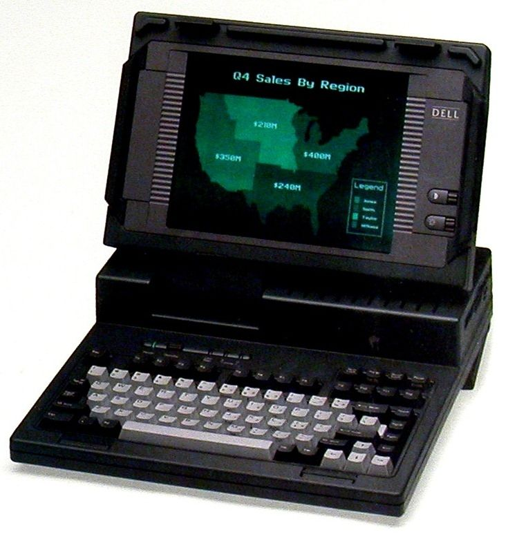 Dell 316LT - one of the first Dell-branded laptops