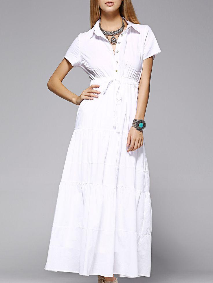 Maxi Shirt Dress #men, #hats, #watches, #belts, #fashion
