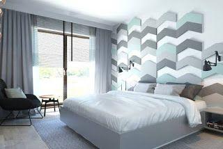 moderne wandgestaltung für schlafzimmer | wohnraum | pinterest - Wandgestaltung Schlafzimmer Maritim