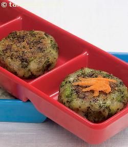 Broccoli Tikki.   This cheesy and crunchy delicacy is sure to steal the hearts of both young and old alike. The dish, otherwise stuffed with mozzarella cheese cubes, is stuffed with low-fat paneer and very little cheese to give it a healthy twist.