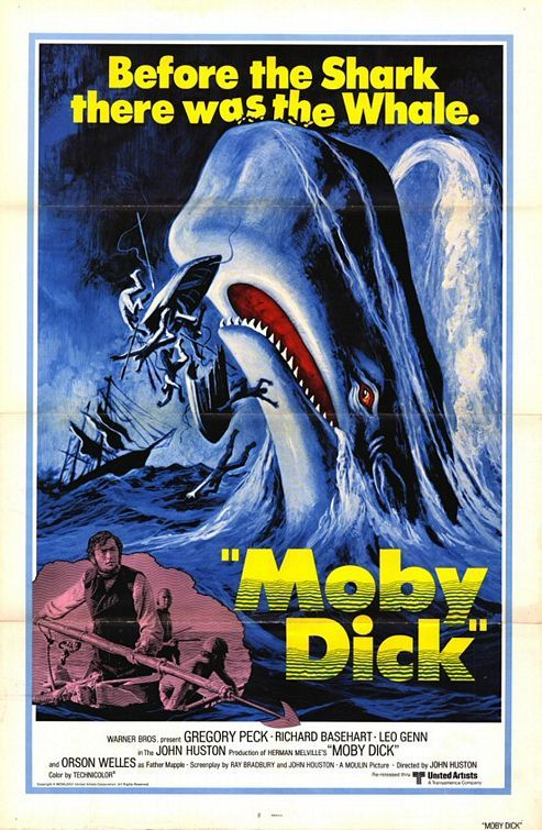 Moby Dick (1956): 100 Movies, Century Movies, Moby Dick 1956, 1956 Movies, Books Movies, 1956 Moby, Movie Poster, 1956 Film, Gregory Peck