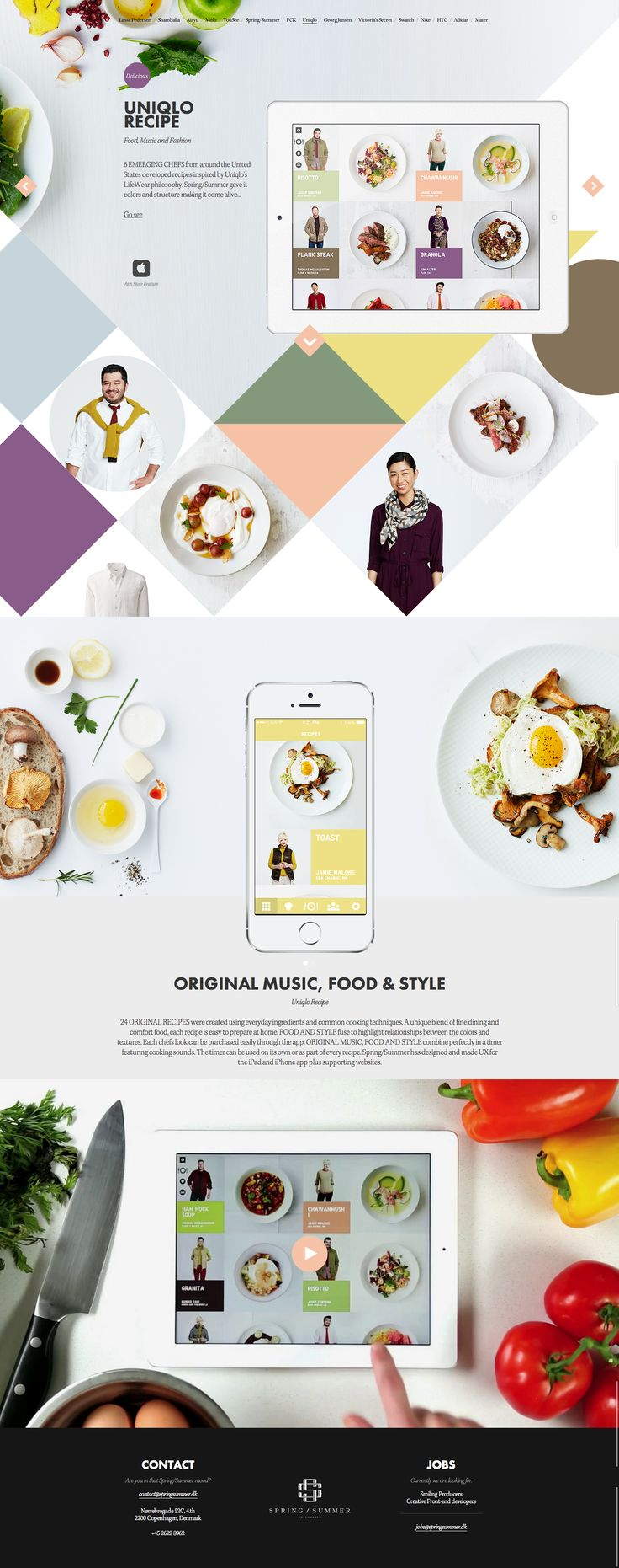 Uniqlo Recipe - Spring/Summer case - www.springsummer.dk