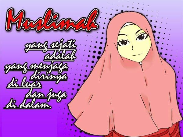 """""""Rasa Malu"""" Mahkota Kemuliaan Muslimah Cantik"""