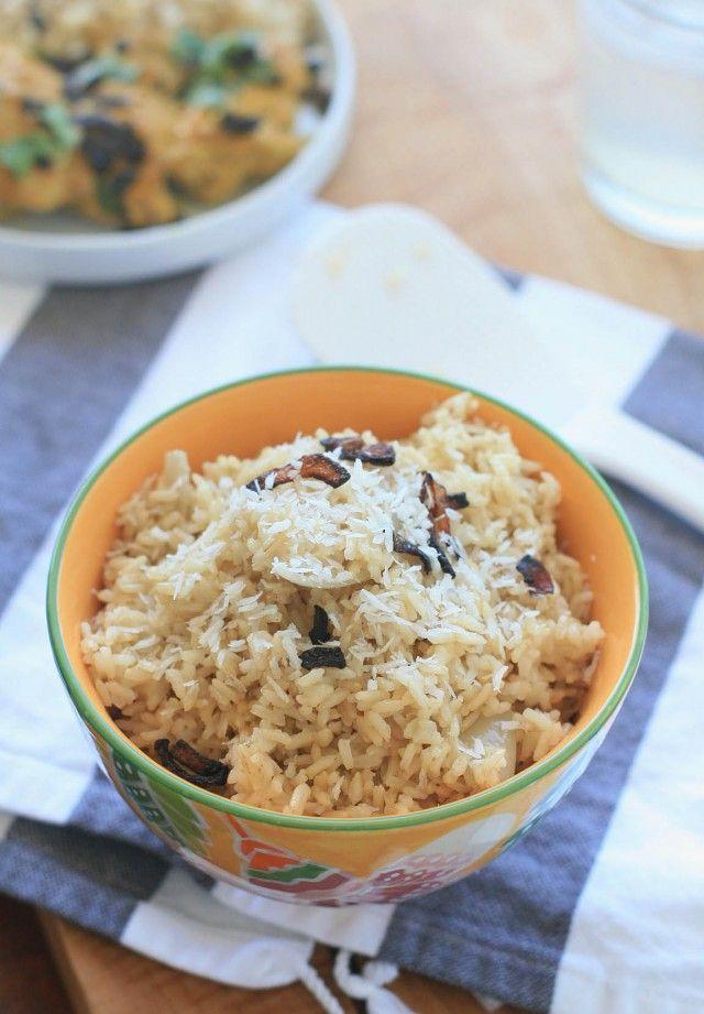 Burmese Coconut Rice