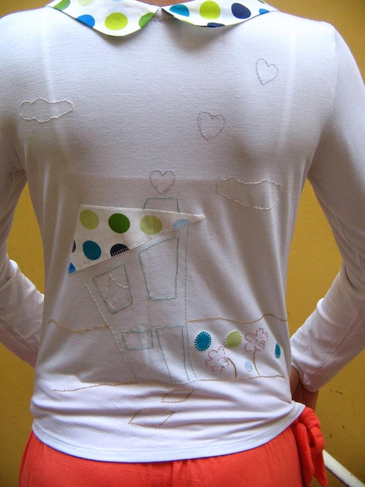 camiseta customizada, by me