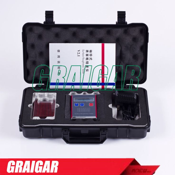 New Leeb451 Portable Surface Roughness Tester Roughness Gauge Ra Rz Rq Rt