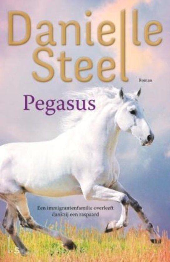 Pegasus Danielle STEEL Aan de vooravond van de tweede wereldoorlog vlucht Nicolas naar Amerika. Hij heeft niets meer, alleen zijn raspaard. Met veel inzet probeert hij een leven op te bouwen. Het lukt- maar dan blijkt het verleden hem achterna te reizen.