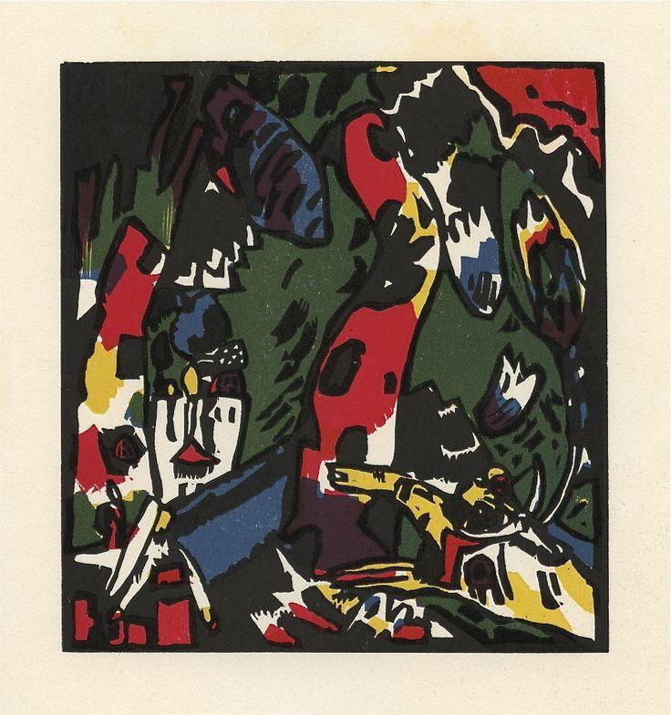 Wassily Kandinsky (Russia, 1866-1944) The Archer