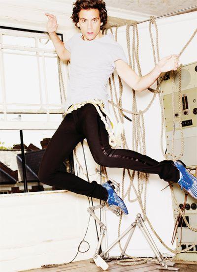 I want the whole world to celebrate - Mika