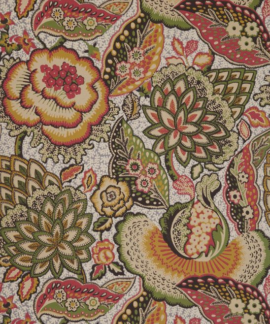 Liberty Furnishing Fabrics Patricia Anne Wallpaper in Sage